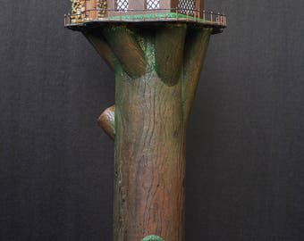 Lighted Treehouse