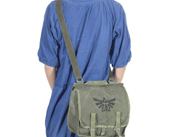Legend of Zelda CANVAS MESSENGER BAG
