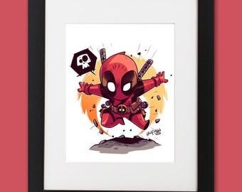 Deadpool Wall Art