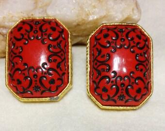 Oriental Flair Earrings