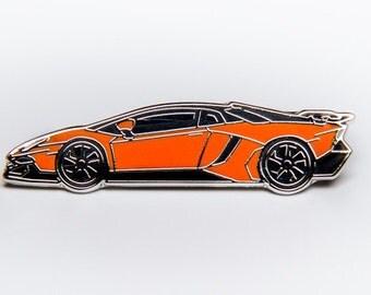 Lamborghini Aventador SV Lapel Pin