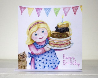 Birthday Bake Card