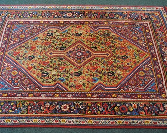 40% clearance Persian rug authentic hand made sarough wool. DISCOUNT40 coupon code