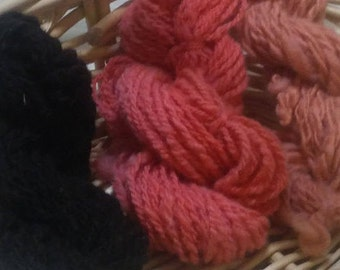Bulky Handspun Wool Yarn (Lot 69)