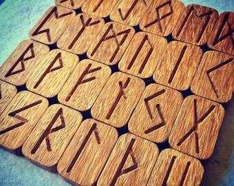 Nordic Oak Runes