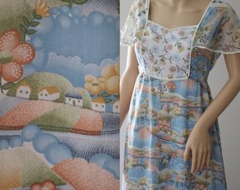 Adorable 70's Prairie Dress