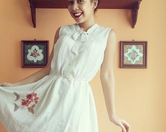 Vintage Polkadot Dress