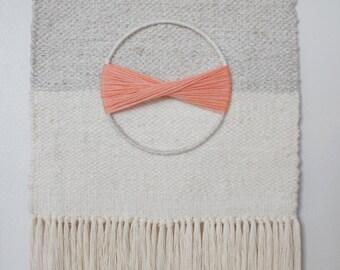 EMMY WEAVING     //     Made to Order, Handmade Textile Art, Handmade Weaving, Textile Art, Gift, Folk Art, Wall Art