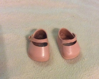 Pink Vogue Ginnette Side button original Shoes Made in USA