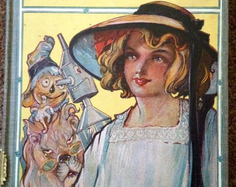 The Road to OZ, by L. Frank Baum, Rare 1909 edition, This is the fifth Book in the series.