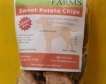 Sweet Potato Chips - Dog Treats