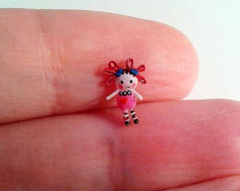 Tiny doll - Micro miniature. OOAK