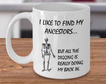 Genealogist Mug, Genealogist Gift, Genealogy Gift, Geneology, Geneologist, Family Historian, Research, Ancestry, I like to find my ancestors