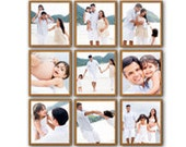 9 Piece Picture Frame Set...