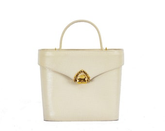 Vintage Ungaro white crossbody bag