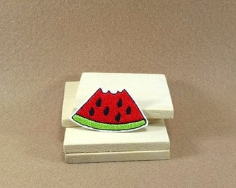 A Cute Watermelon -  Iron on Patch