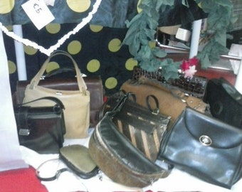 genuine leather handbags original vintage