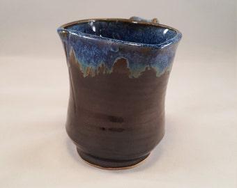 Blue and Black Mug