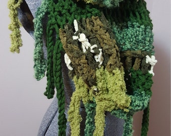 A Mossy Walk through the woods Cowl