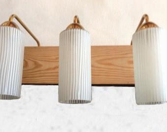 wall lamp vintage industrial 3 bulbs