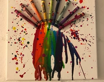Crayons over the Rainbow