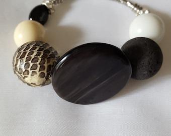 Handmade bracelet, natural stones bracelet
