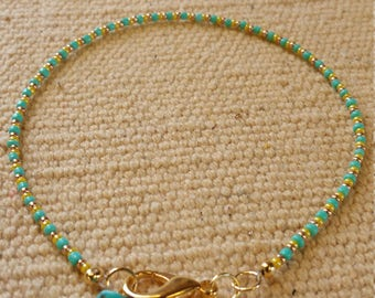 Simple Summer Colors Anklet