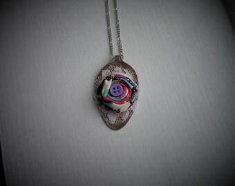Vintage Spoon Necklace #385