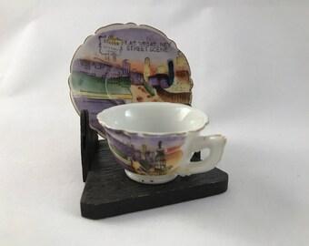 Las Vegas Cup and Saucer Souvenir Set