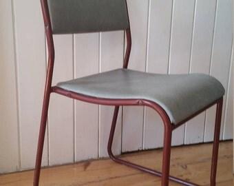PEL Vintage Tubular Stacking Chair
