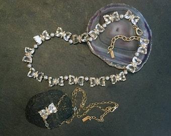 Bowtie Necklace