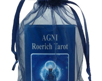 A Deeply Spiritual Tarot Deck. AGNI Roerich Tarot, 2016 Edition. Set of 78 Cards Based on Paintings by N. Roerich. A Unique Tarot Cards Deck