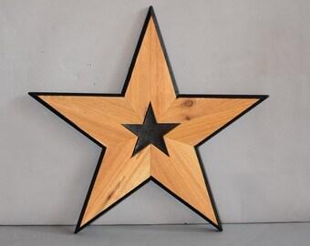 Wooden Star 5132