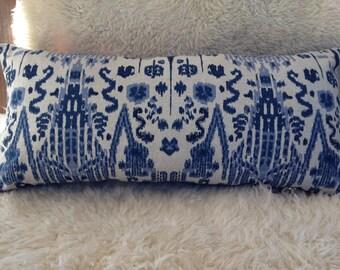 Linen Ikat pillow