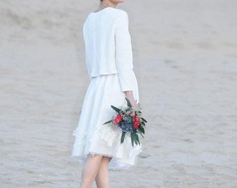 Simple Wedding Skirt Non Traditional Rustic Dress Alternative