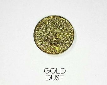 Pressed Glitter Eyeshadow - 'Gold Dust'