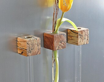 Fridge Magnet vase beech increased magnetic vase flower vase