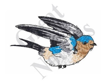 Barn Swallow - Machine Embroidery Design