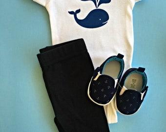 Baby Whale Onesie //  Funny Baby Boy Onesie  // Baby Onesie // Funny Baby shirt // Funny Baby Onesie // funny boy Onesie