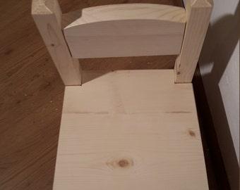 Fir wood Chair