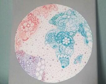 Zen Tangle Art of the World