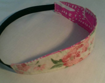 children's headband. girl headband, girls gift, girls birthday, flower headband, pink headband
