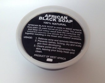 Natural African Black Soap Paste 100% Raw Pure WHOLE SALE 8 oz up  32 oz