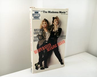 Desperately Seeking Susan VHS - Original 1985 HBO Cannon VHS Release