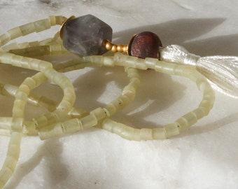 Serpentine stone Necklace