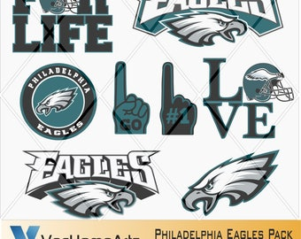 Philadelphia eagles svg | Etsy