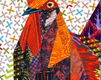 Ruddy Rooster Quilt Pattern