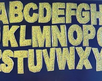 Fabric Alphabet Set