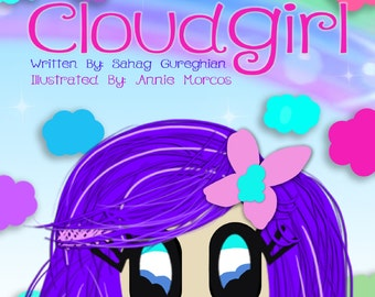 Cloudgirl: A Computer Illustrated 2D Graphic Children's Mini Novel