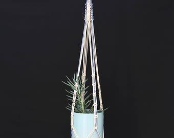 """""""Ladon"""" macrame plant hanging"""